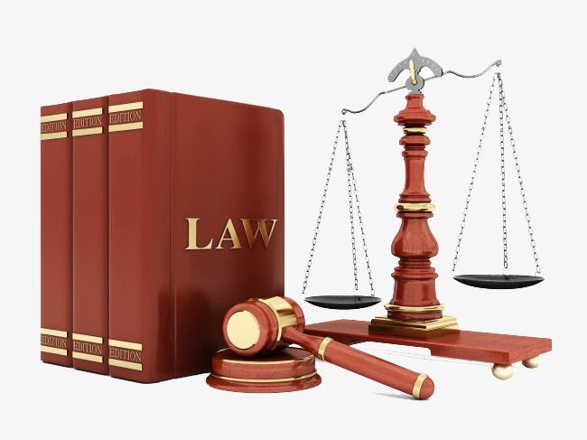 Law books and justic scale graphic