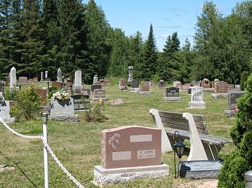 Photo of Laird Cemetery headstones