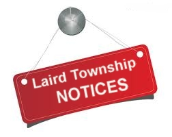 Laird Township Notices graphic